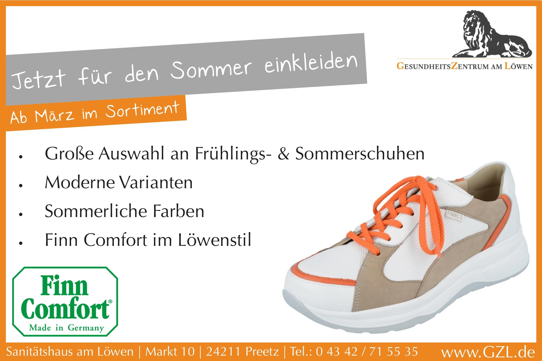 Finn Comfort Sommer Kollektion