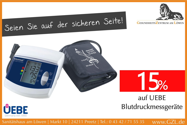UEBE Blutdruckmessgeräte
