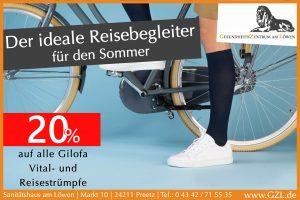 Gilofa Vital- und Reisestrümpfe