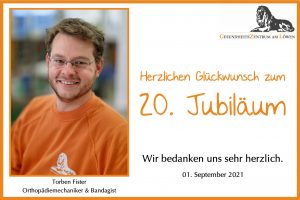 Jubiläum 20 Jahre Torben Fister