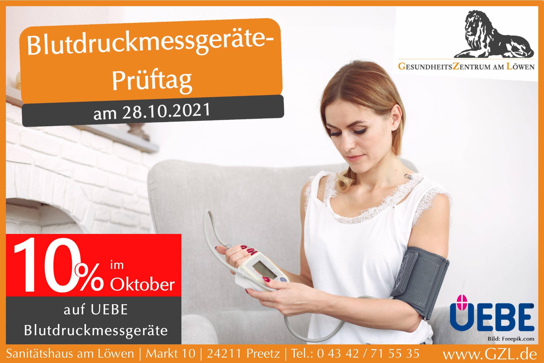 Blutdruckmessgeräte 2021